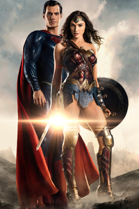 720x1280 Justice League Superman Wonder Woman 4k