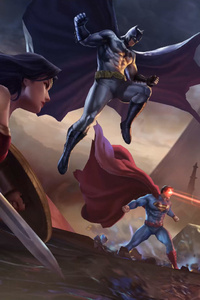 1280x2120 Justice League Vs Arena Of Valor