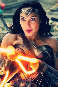 Justice League Wonder Woman 4k