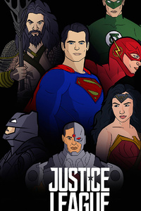 240x400 Justice League4k Artwork