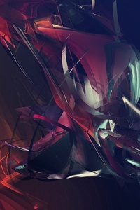 1080x2280 Justin Maller Abstract Shapes