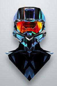 750x1334 Justin Maller Art Line Helmet
