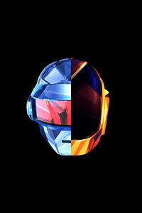 1080x2280 Justin Maller Daft Punk Facet 4k