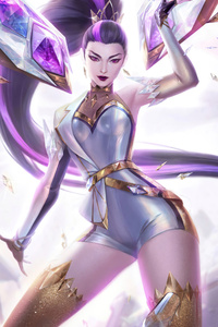 800x1280 Kaisa From League Of Legends 5k