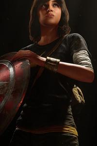 640x960 Kamala Khan MsMarvel In Marvels Avengers