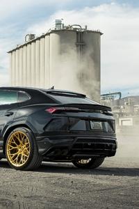 360x640 Kar Tunz Lamborghini Urus 2020 Rear