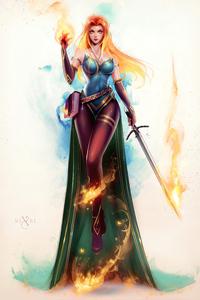 1440x2560 Kara Fantasy Girl
