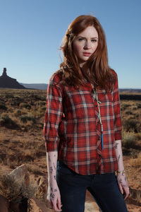 Karen Gillan As Army Pond In Doctor Who