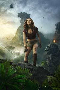 Karen Gillan As Ruby Roundhouse Jumanji Welcome To The Jungle