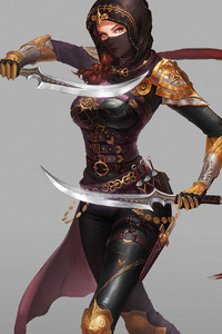 Katana Warrior 4k