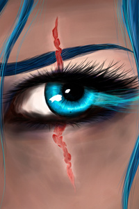 Katarina League Of Legends Eye