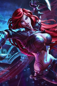 720x1280 Katarina Monster Hunter 5k