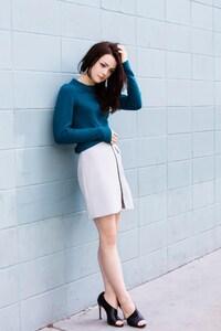 640x1136 Kathryn Prescott Actress