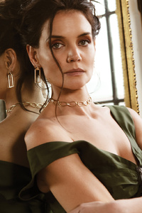 1125x2436 Katie Holmes Flaunt Magazine 2020