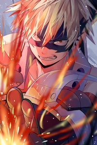 Katsuki Bakugou My Hero Academic 4k