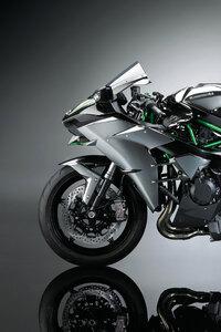 800x1280 Kawasaki Ninja H2 4k