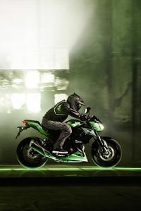 750x1334 Kawasaki Z300 2018