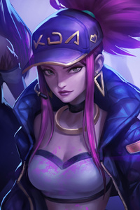 Kda Akali League Of Legends 4k