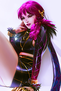 Kda Akali League Of Legends Art