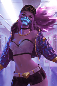 Kda Akali Lol Art