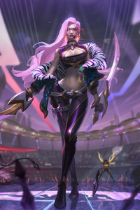 Kda Katarina League Of Legends 4k