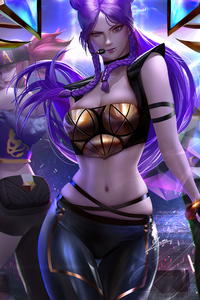 Kda Lol Art