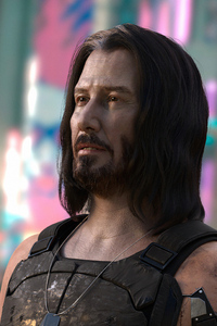 2160x3840 Keanu Reeves In Cyberpunk 20774k