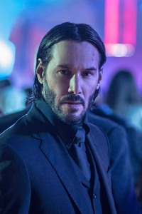 1242x2688 Keanu Reeves In John Wick 2