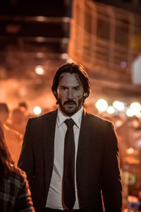 1242x2688 Keanu Reeves John Wick Chapter 2