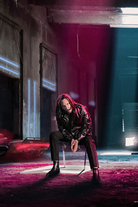 1125x2436 Keanu Reeves X Cyberpunk 2077