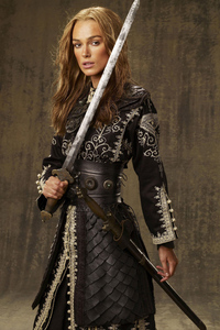 Keira Knightley As Elizabeth Swann In Pirates Of The Caribbean