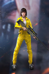 540x960 Kelly Garena Free Fire 4k