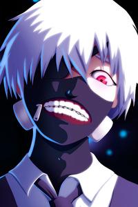 Ken Kaneki Tokyo Ghoul 4k Art