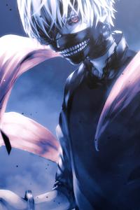 Ken Kaneki Tokyo Ghoul Artwork