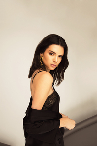 Kendall Jenner In Black Dress