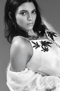 Kendall Jenner Monochrome