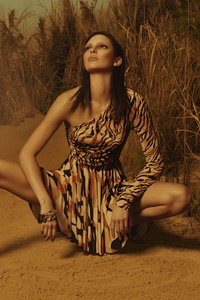 240x400 Kendall Jenner Roberto Cavalli Photoshoot