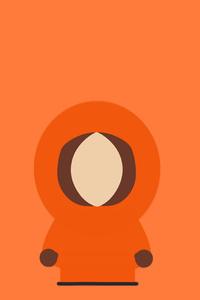 Kenny McCormick South Park Minimalism 8k