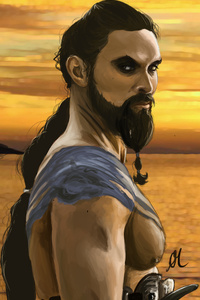 Khal Drago 5k Artwork
