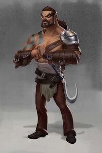 Khal Drogo 3d Art