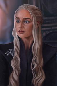 540x960 Khaleesi Game Of Thrones 5k Artwork