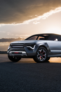 1242x2688 Kia Habaniro Concept 2019 5k