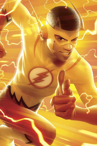 Kid Flash Art