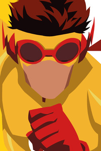 Kid Flash Artwork