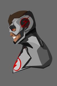 Kid Flash Minimalism 4k