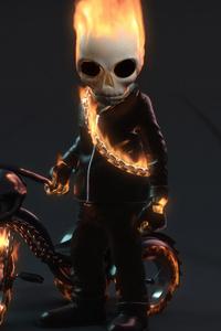640x1136 Kid Ghost Rider