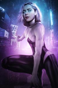 Kiernan Shipka As Spider Gwen