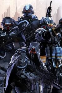 750x1334 Killzone Shadow Fall Multiplayer