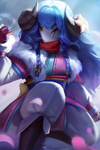 1080x2280 Kindred Of League Of Legends 4k