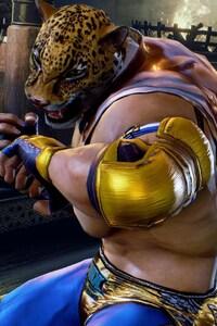 1125x2436 King In Tekken 7